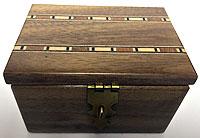 Karpinski Hand Crafted Coin Box Meir Yedid Magic