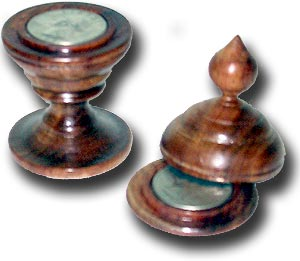 U S Quarter Coin Vase Short Top Meir Yedid Magic