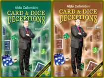 Aldo Colombini's Card & Dice Deceptions Volume #1-2 Video Set