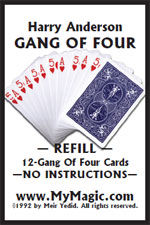 Gang Of Four Refill Cards (Harry Anderson)