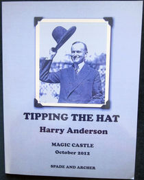 Tipping The Hat Magic Castle Edition (Harry Anderson-Autographed)