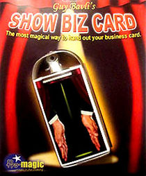 Show Biz Card (Guy Bavli)