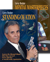Larry Becker's Standing Ovation and Mental Masterpieces DVD Set