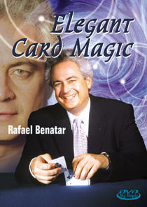 Elegant Card Magic DVD (Rafael Benatar)