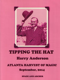Tipping The Hat Atlanta Edition (Harry Anderson-Autographed)
