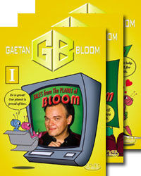 Gaetan Bloom's Tales From The Planet Of Bloom #1-3 DVD Set