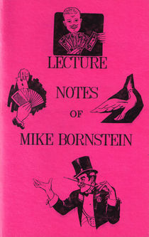 Lecture Notes Of Mike Bornstein