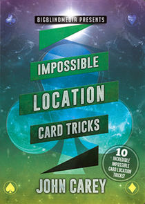 Impossible Location Card Tricks DVD (John Carey)