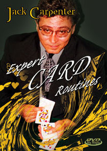 Expert Card Routines DVD (Jack Carpenter)
