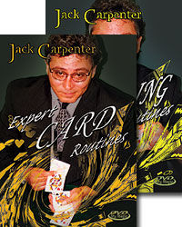 Jack Carpenter's Expert Card & Gambling Routines DVD Set