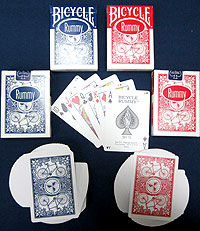 Bicycle Rummy League Back 2-Pack