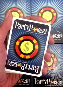 PartyPoker Blue And Green Deck Set