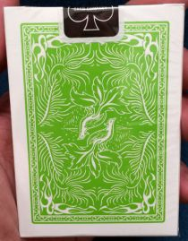 Phoenix Lime Green Playing Cards