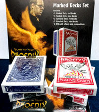 Phoenix Marked Cards 4-Deck Set