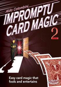 Impromptu Card Magic #2 DVD (Aldo Colombini)