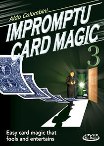 Impromptu Card Magic #3 DVD (Aldo Colombini)
