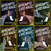 Aldo Colombini's Impromptu Card Magic #1-6 Video Set