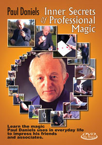 Inner Secrets Of Professional Magic DVD (Paul Daniels)