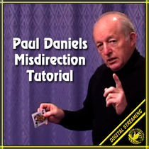 Misdirection Tutorial Video (Paul Daniels)