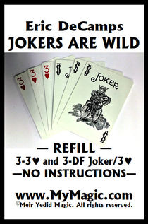 Jokers Are Wild Refill Cards (Eric DeCamps)