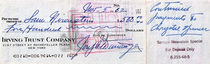 Joseph Dunninger Signed Tan $500 Checks