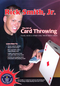 Art Of Card Throwing DVD (Rick Smith, Jr.)