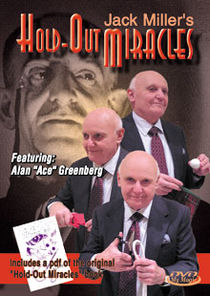 "Jack Miller's Hold-Out Miracles DVD (Alan ""Ace"" Greenberg)"