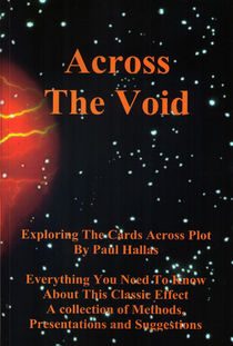 Across The Void (Paul Hallas-Autographed)