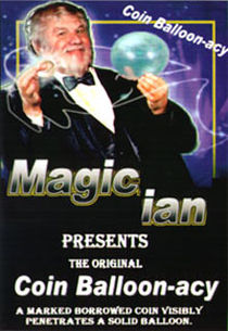 Coin Ballonacy DVD (Magic Ian)