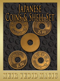 Japanese Coins & Shell Set