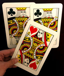 Jumbo Three Card Monte