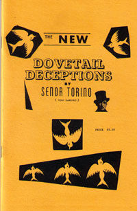 Dovetail Deceptions (Tony Kardyro)