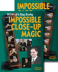 Ray Kosby's Impossible Close-Up and Card Magic DVD Set