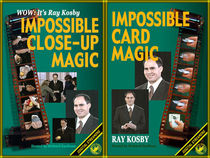 Ray Kosby's Impossible Close-Up & Card Magic 2-Video Set