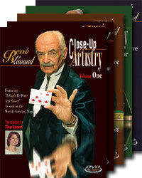 René Lavand's Close-Up Artistry 5-DVD Collection