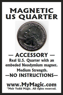 Magnetic US Quarter