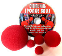 Diminishing Sponge Balls (Magic Ian)