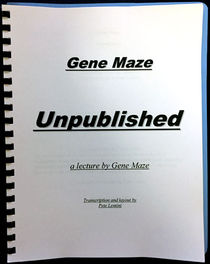 Gene Maze Unpublished