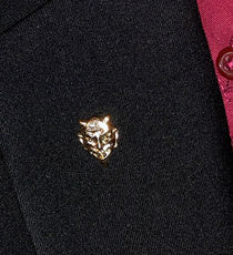 Devil Head Lapel Pin