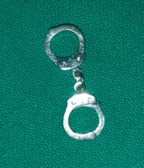 Handcuff Lapel Pin