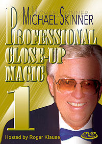 Professional Close-Up Magic #1 DVD (Michael Skinner)