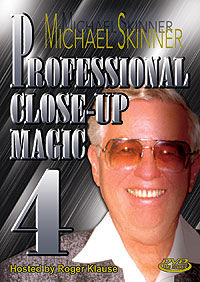 Professional Close-Up Magic #4 DVD (Michael Skinner)