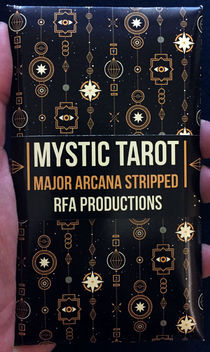 Mystic Tarot: Stripped Major Arcana Cards