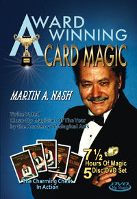 Award Winning Card Magic 5-DVD Set (Martin A. Nash)