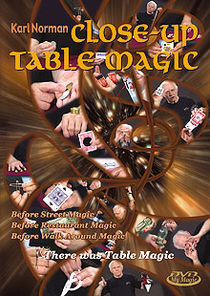 Close-Up Table Magic DVD (Karl Norman)