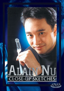 Close-Up Sketches DVD (Alain Nu)