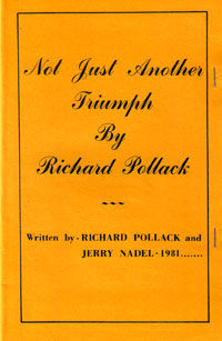Not Just Another Triumph (Richard Pollack)