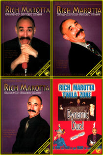 Rich Marotta's 4-Volume Comedy Magic Video Set