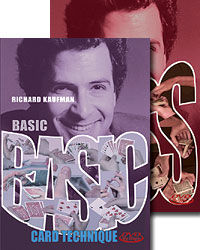 Richard Kaufman's Basic Card Technique and On The Pass DVD Set