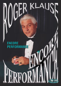 Encore Performance DVD (Roger Klause)